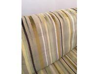 Designers guild fabric corner sofa