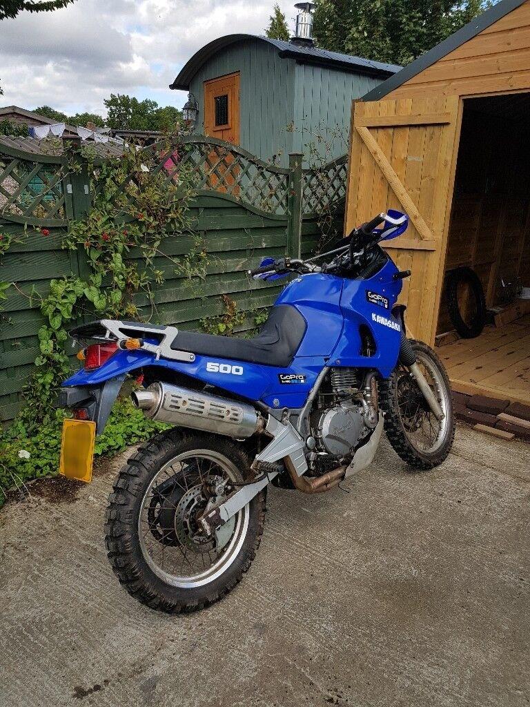 Kawasaki kle 500 dual sport enduro