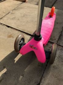 Micro Scooter Pink, great condition.