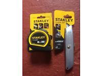 Stanley tools new.