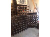 12, 30 & 42 bottle wine racks for sale!!