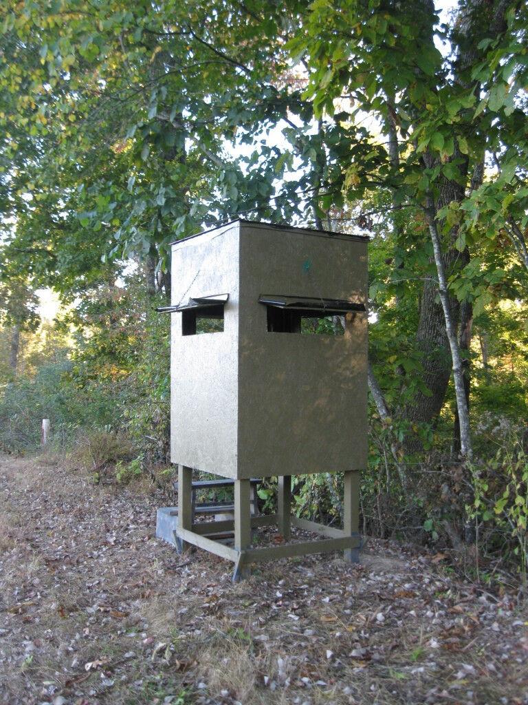 Poor Man's Hunting Box Blind/Shooting House Build Plan ...