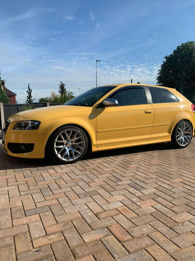 Audi S3 8P Black edition 2007 Imola Yellow Low miles APR Stg 1 300BHP+ | in Crewe, Cheshire ...