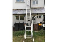 """Window cleaners """"A"""" ladder"""