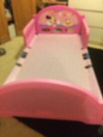 Toddler bed.