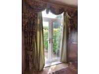Classic print curtains
