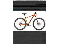 Cube Acid 29er Mountain Bike brand new in orange and black 17inch frame