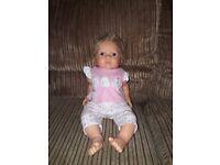 Chad valley tiny treasures baby doll