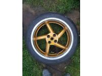 Honda vfr750 rear wheel 94-97