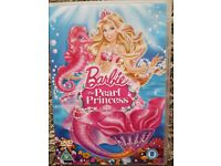 Barbie the pearl princess dvd