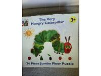 The Very Hungry Caterpillar - 24 piece Jumbo Floor Puzzle in Box - Immaculate