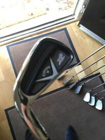 Left handed callaway x2 hot Pro golf irons 3-pw