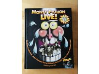 Monthy Python Live! - book, very good condition - excellent as a gift