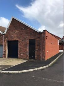 Two workshop / warehouse units, each 1,000 sq.ft. Kingswood TO LET