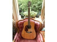 Left Handed Fairclough Acoustic Guitar