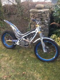 Sherco 250 Trials bike not gas gas, beta or montesa