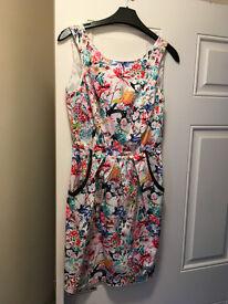 Lipsy Floral Dress -Size 10
