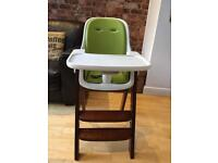 Oxo Tot High Chair (Green and White)