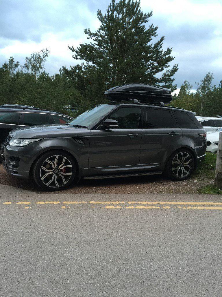 Range Rover Sport Roof Luggage Box