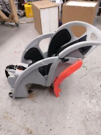 Rhode Gear Co-Pilot Limo Child seat and Blackburn EX 1 disc Rack Bike Cycle