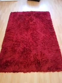 Shag-pile rug