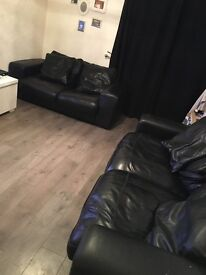 Large dfs 2 and 3 seater sofas
