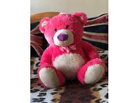 Pink plush Teddy Bear