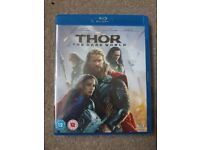 Thor- the dark world blu-ray. In good working condition.