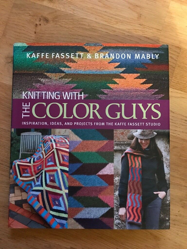 Knitting Book - Knitting with the Color Guys (Kaffe Fassett)