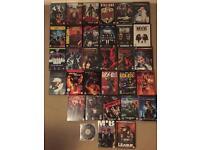 Marvel dc DVDs blue Ray job lot