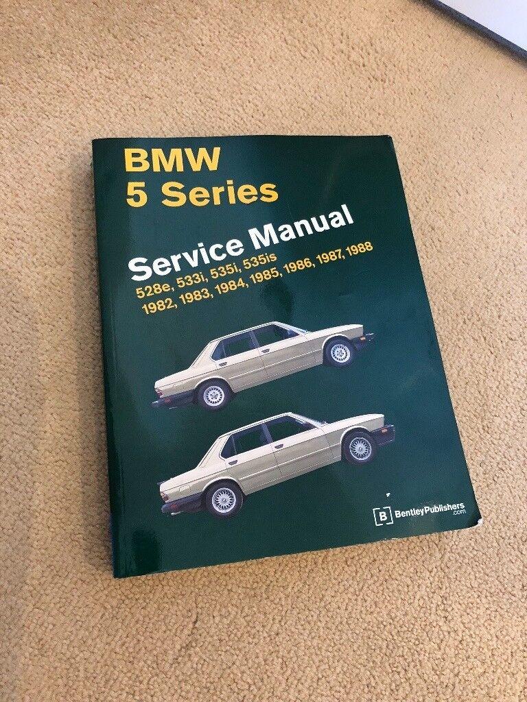 BMW Service Manual 5 Series E28 Bentley