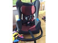 Audi baby car seat and isofix base