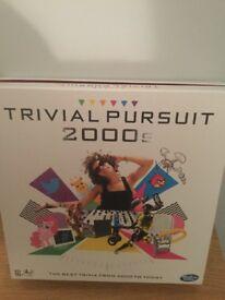 Trivial persuit 2000s board game.