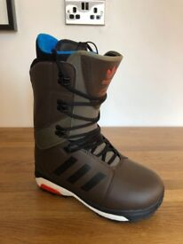 Adidas Tactical Boost 16/17 Snowboard Boots UK 9.5 (Like New)
