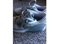 2 pairs Nike air max trainers