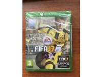 FIFA 17 ON XBOX ONE BRAND NEW SEALED UNOPENED