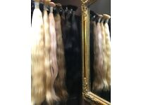 Extensions Slavic Russian hair on keratin capsules in London