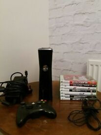 Xbox 360 with Games Immaculate condition