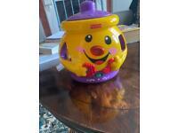 Shape cookie jar toy