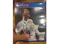FIFA 18 PS4 (Brand New)