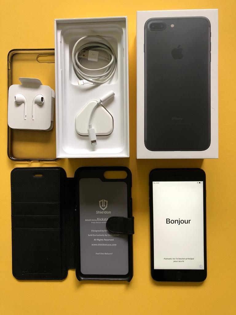 iPhone 7 Plus 128gb unlocked Black