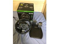 Thrustmaster TMX Force Feedback Steering Wheel and Pedals