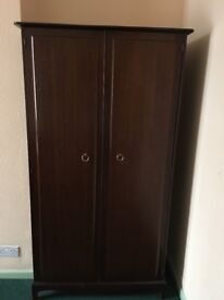 Stag Minstrel Wardrobe with shelves