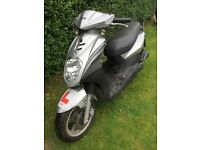 2012 SILVER SYM SYMPLY 50cc... SPARES OR REPAIRS