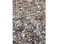 Gravel / mixed pebbles - free