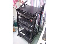 Pro Studio Rack Stand - on wheels - Nice high heavy duty stand - £85 ono