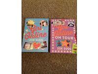 GIRL ONLINE & GIRL ONLINE ON TOUR BOOKS ZOE SUGG ZOELLA HARDBACK