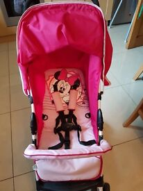 Disney baby Minnie Mouse sport pram