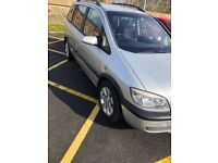 VAUXHALL ZAFIRA 2.0 DTI (2004) 2 owners 7 seater