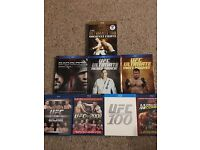 UFC huge bundle of blurays - official ufc blu ray titles